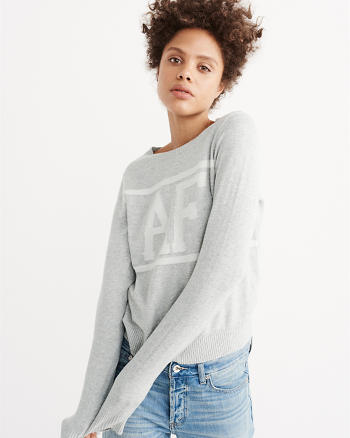ANF Logo Crew Sweater