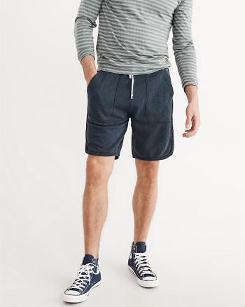 ANF Curved Hem Shorts