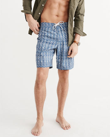 ANF Patterned Boardshorts