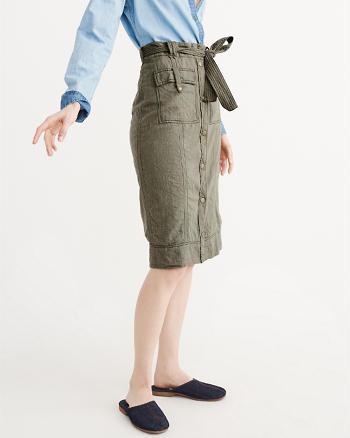 ANF Utility Midi Skirt
