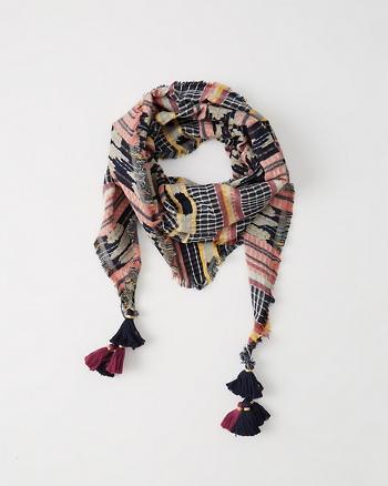 ANF Triangle Multicolored Scarf