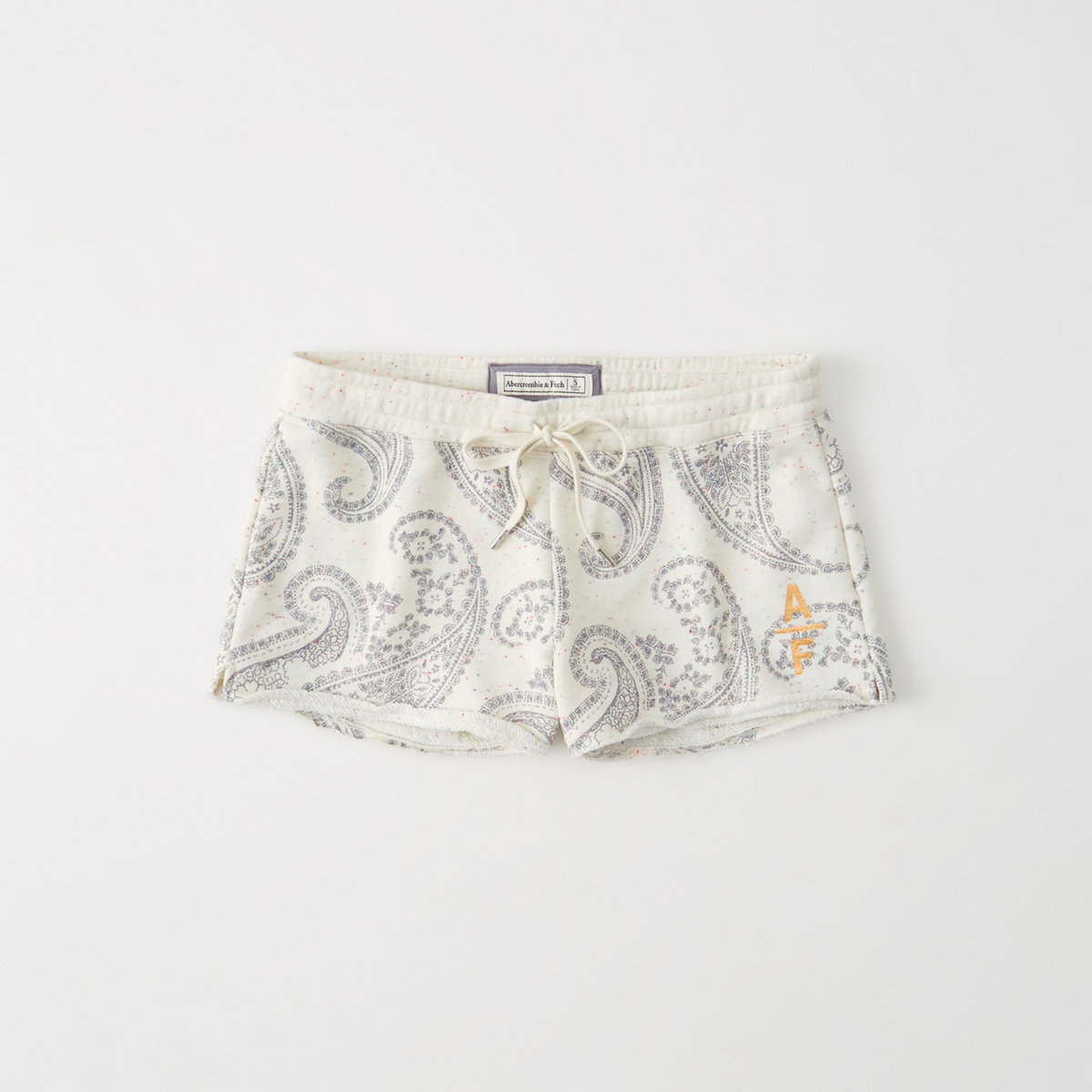 Printed Fleece Shorts