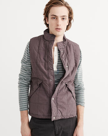 ANF Box Quilted Vest