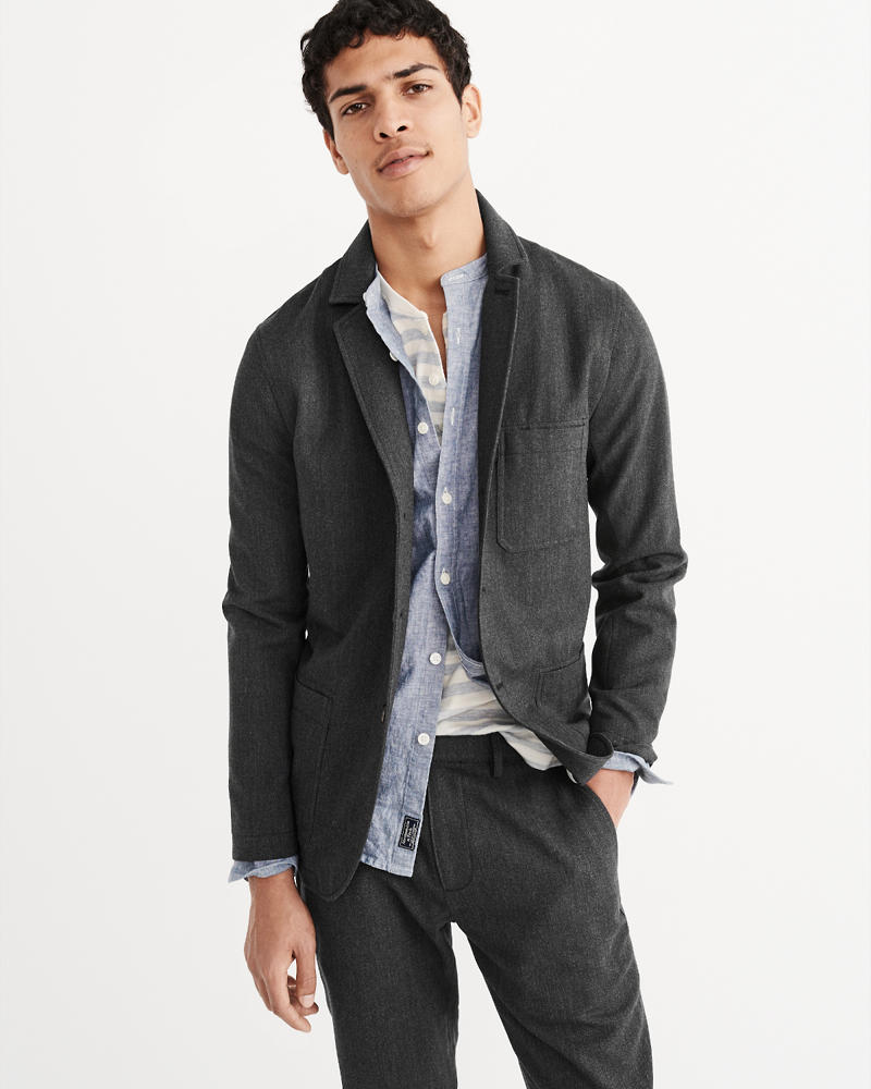 Mens Outerwear | Abercrombie &amp Fitch