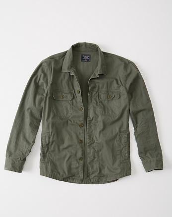 ANF Military Shirt Jacket