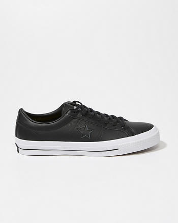ANF Converse One Star Leather Sneakers