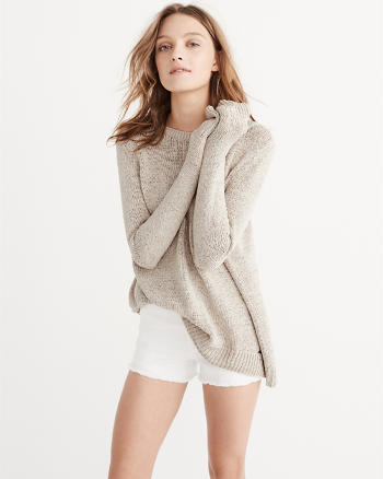 ANF Split Back Sweater