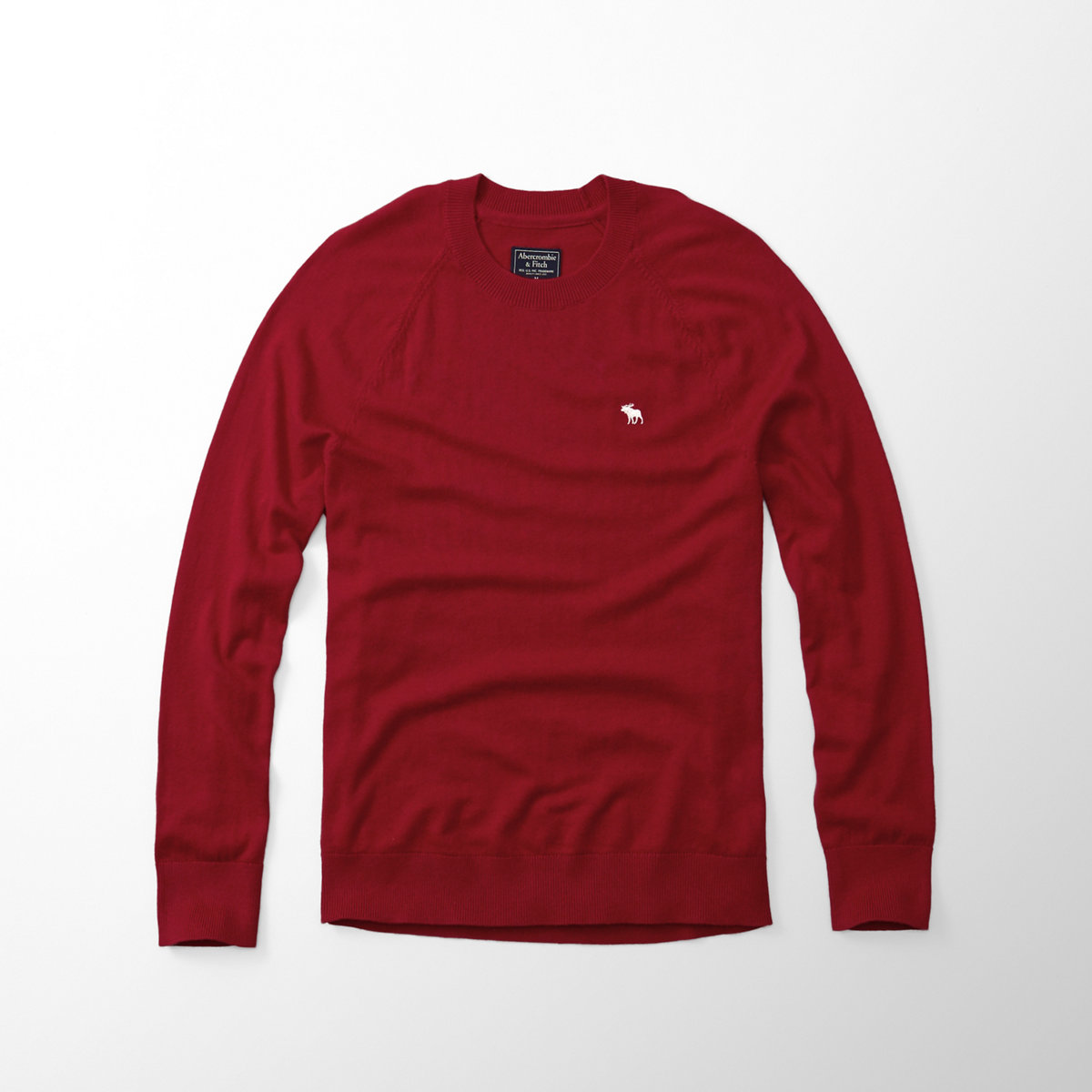 Wool-Blend icon Crew Sweater