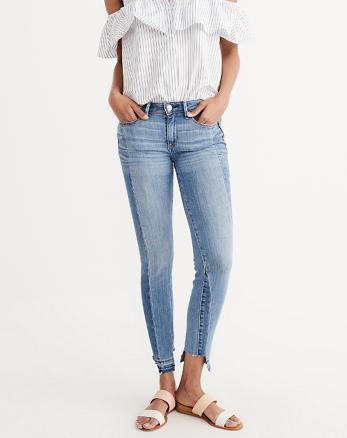 ANF Step Hem Super Skinny Jeans