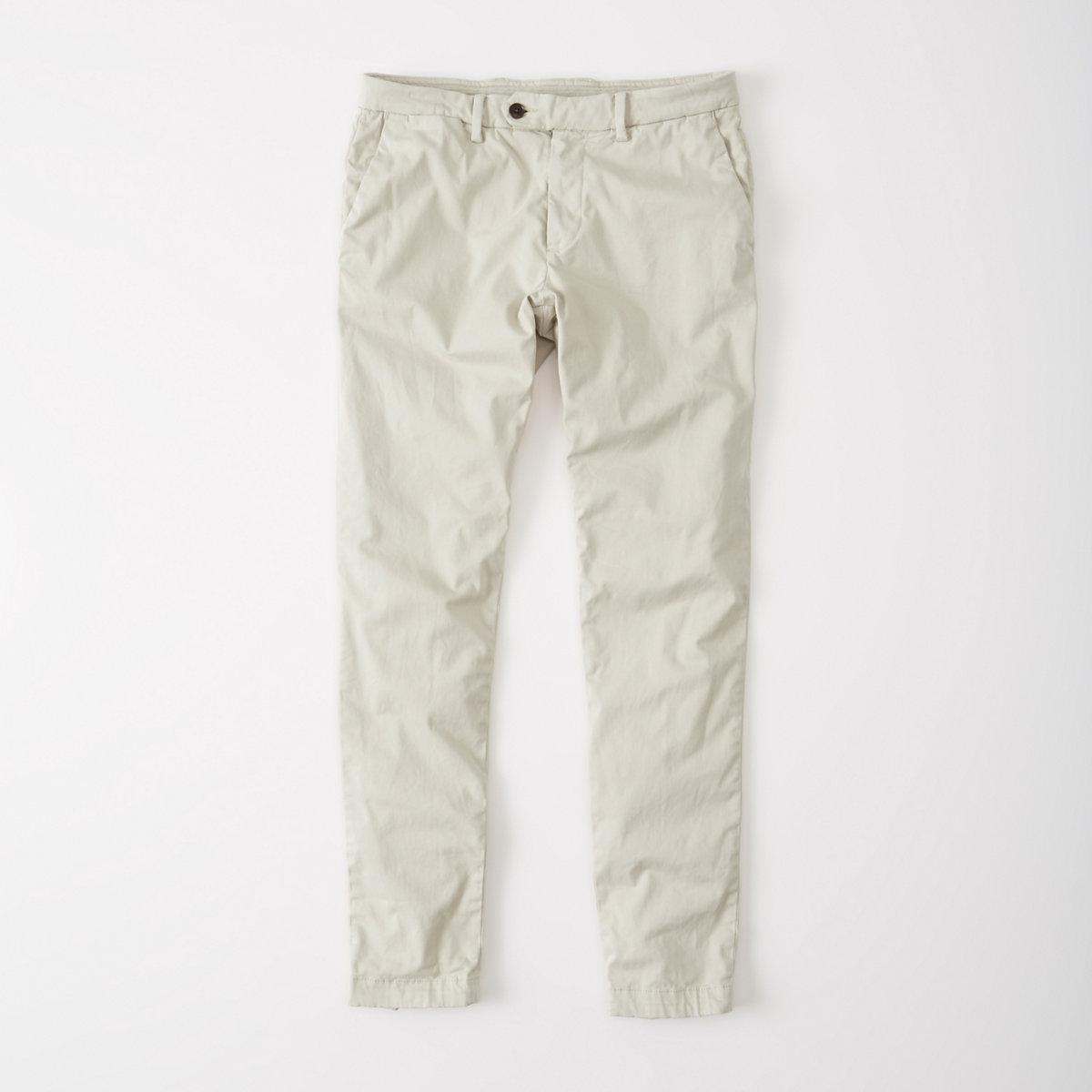 Stretch Sateen Chino Pants