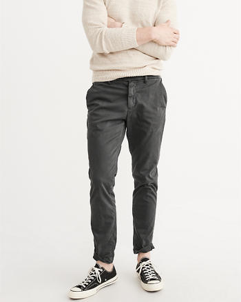 ANF Sateen Chino Pants