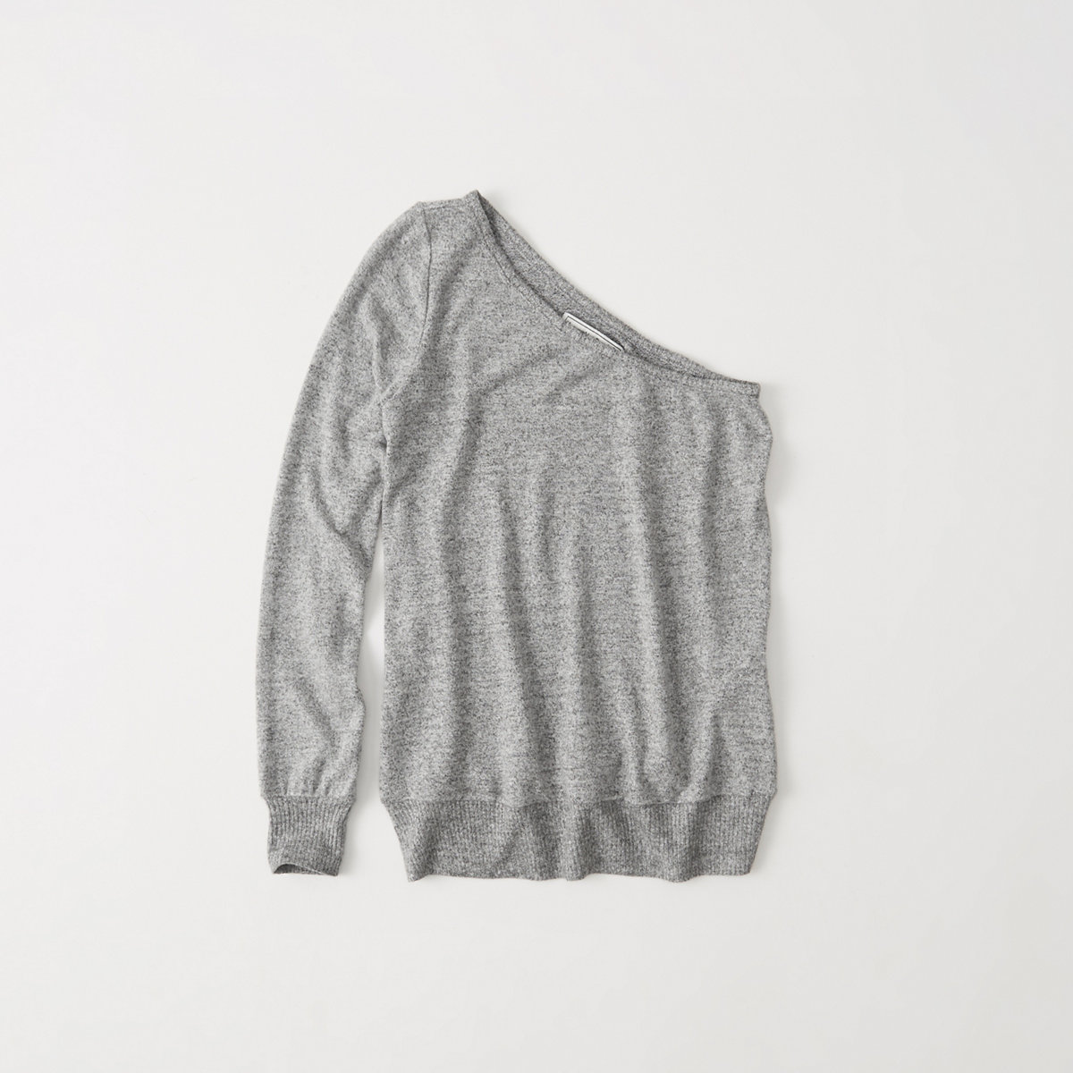 Cozy One Shoulder Sweatshirt