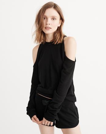 ANF Cozy Cold Shoulder Sweatshirt