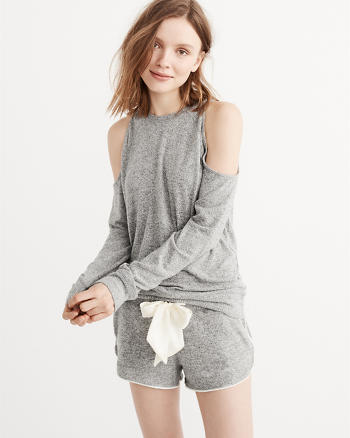 ANF Cozy Cold Shoulder Sweatshirt