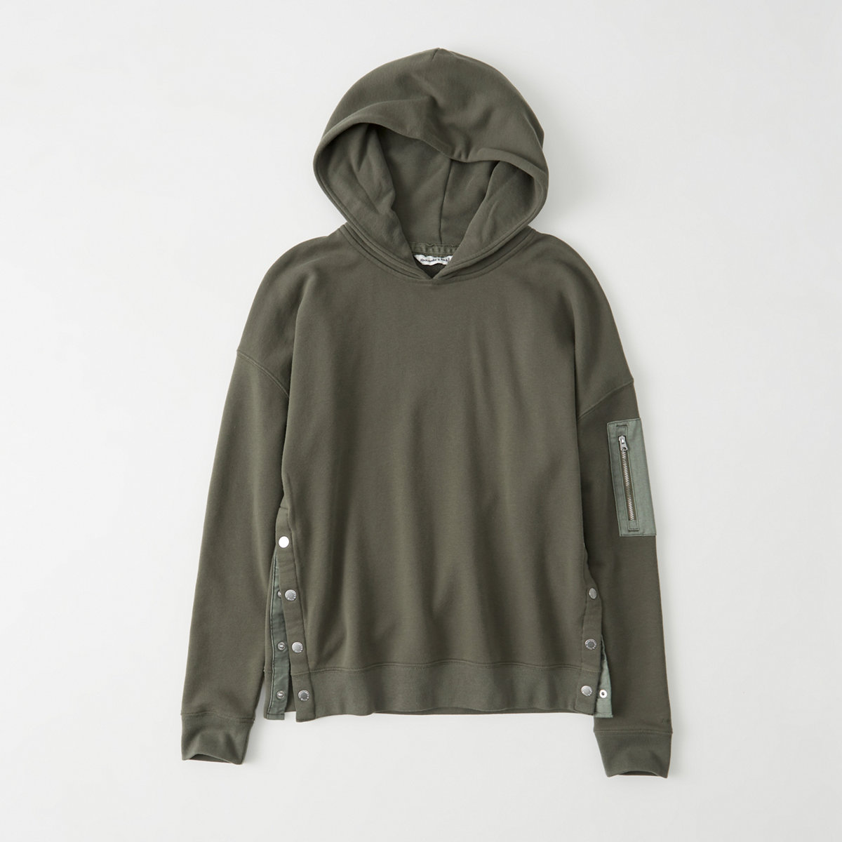 Snap Button Hoodie