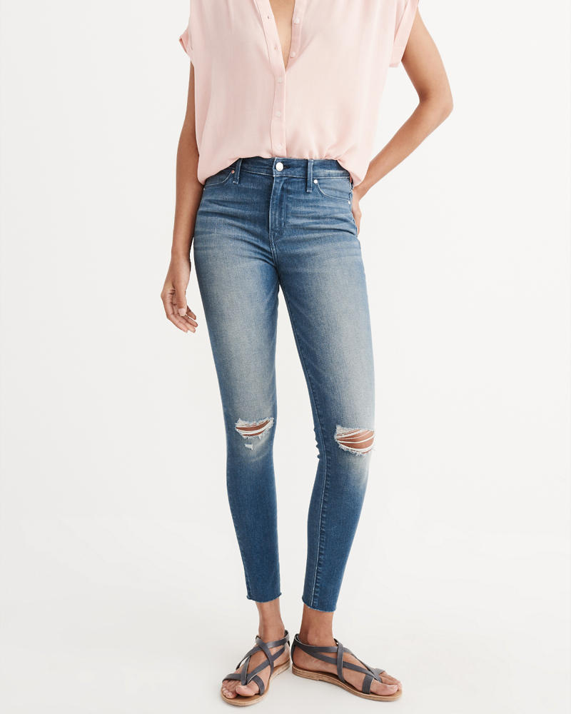 Womens Super Skinny Jeans | Abercrombie &amp Fitch