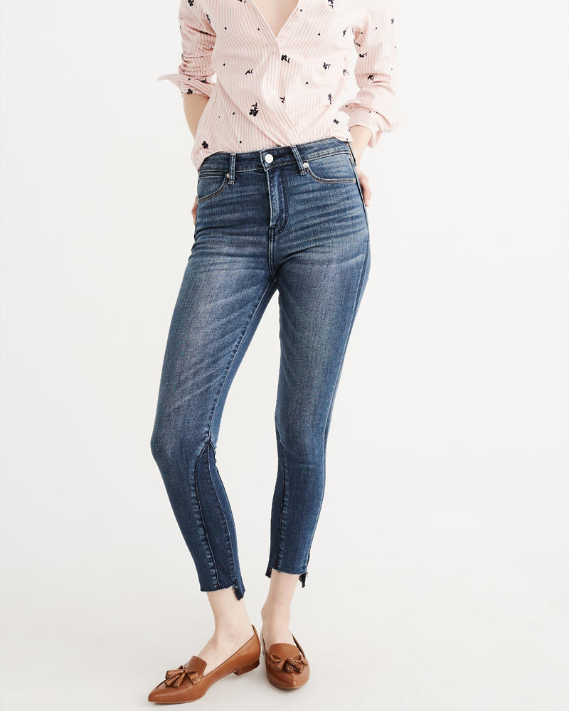womens ripped bootcut jeans bbg clothing