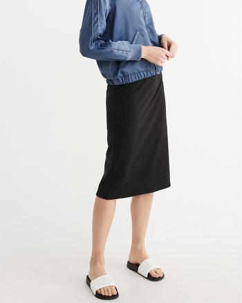 ANF Fleece Midi Skirt