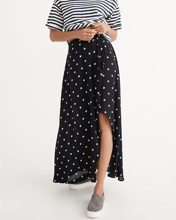 ANF Wrap Maxi Skirt
