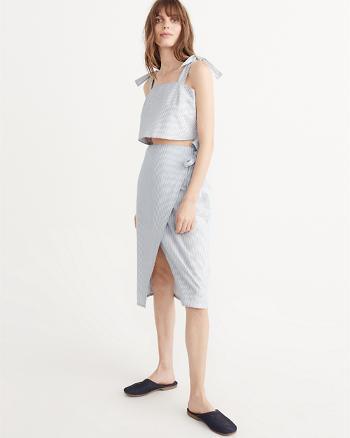 ANF A-Line Midi Skirt and Top Set