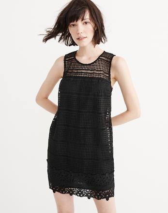 ANF Lace Shift Dress