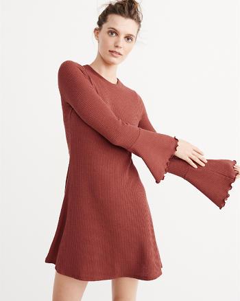 ANF Ribbed Knit Dress