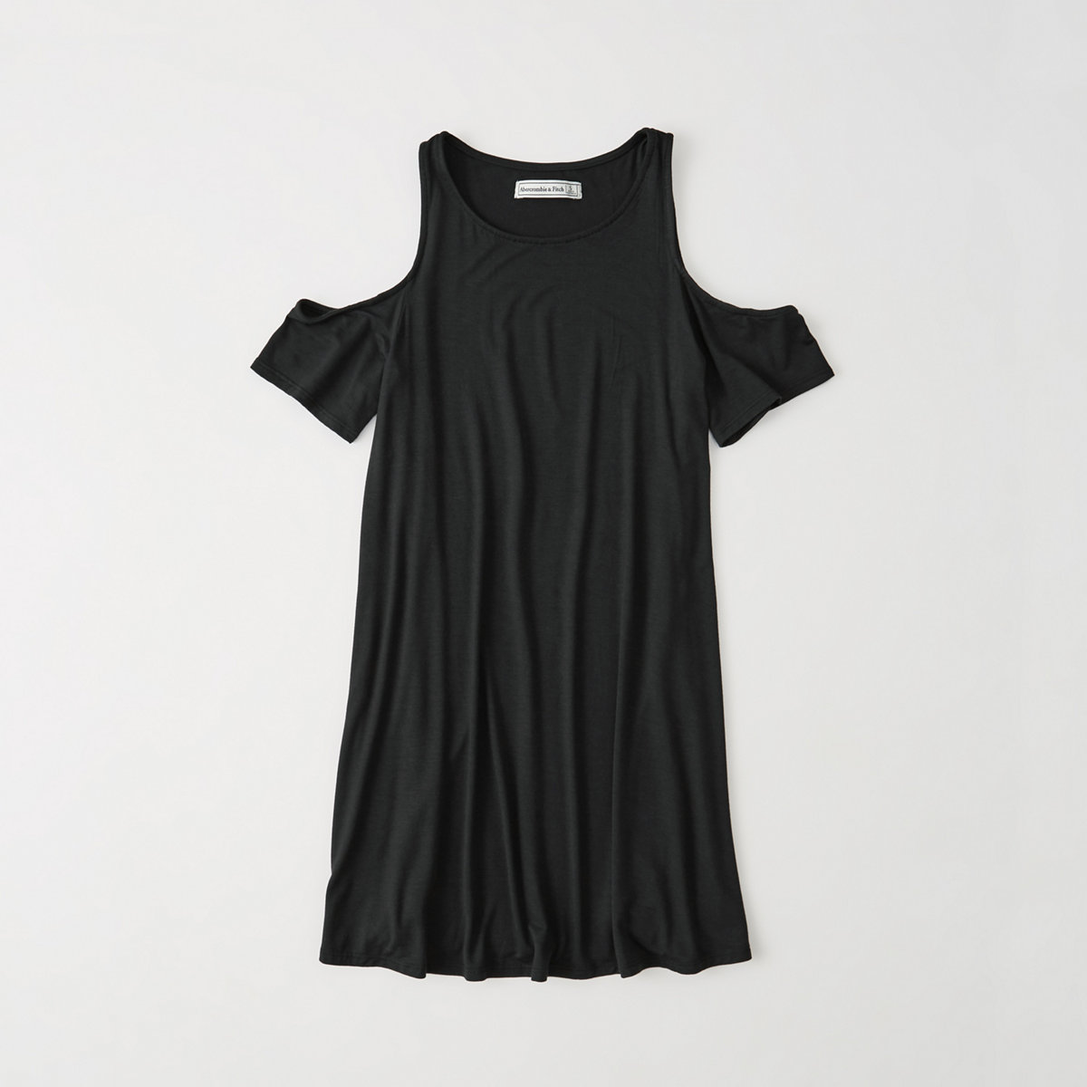 Cold Shoulder Knit Dress