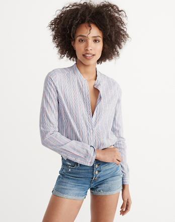 ANF Mandarin Shirt