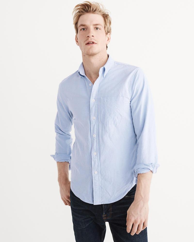 Mens Oxford Shirt Mens Tops