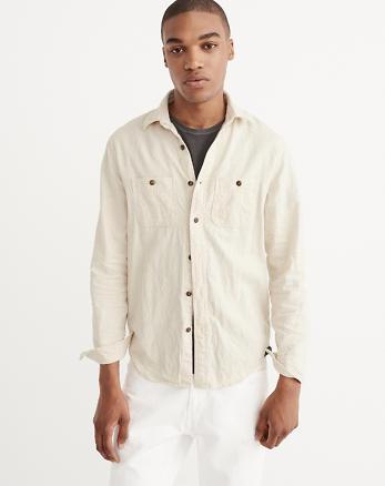 ANF Button-Up Shirt