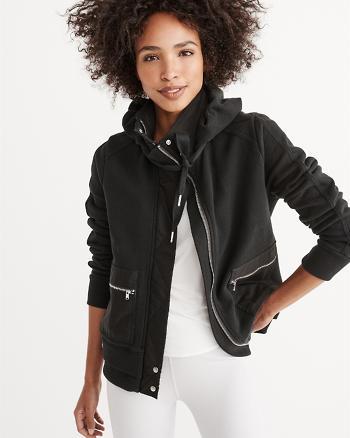 ANF Full-Zip Fleece Hoodie