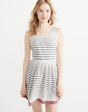 ANF Striped Dress
