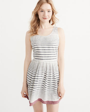 ANF Striped Dress