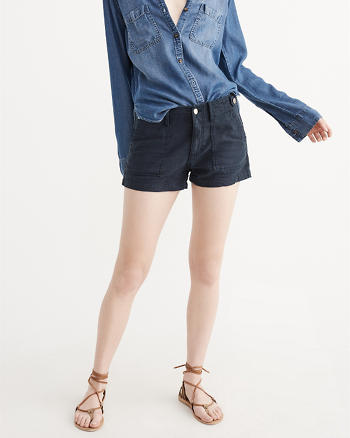 ANF Military Boyfriend Shorts