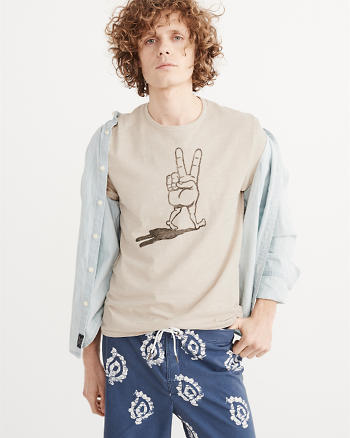 ANF Graphic Peace Tee