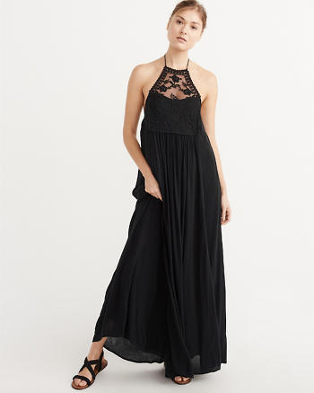 ANF Halter Maxi Dress