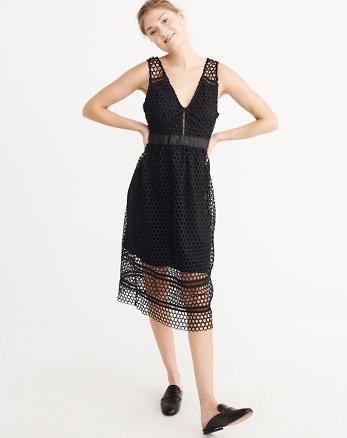 ANF Lace Midi Dress