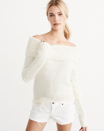 ANF Off-The-Shoulder Sweater