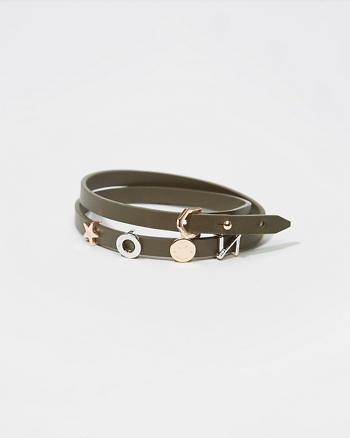 ANF Wrap Charm Bracelet