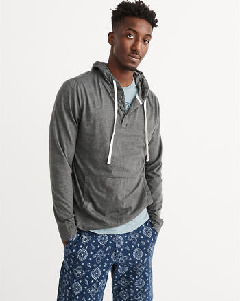 ANF Recycled Fabric Lightweight Hoodie