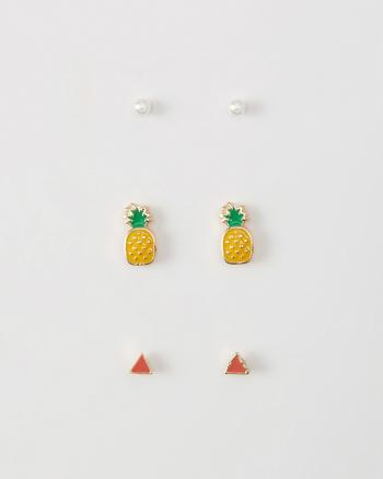 ANF Pineapple Earring Pack