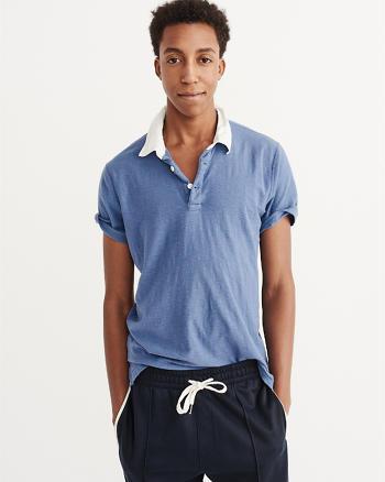 ANF Contrast Collar Polo