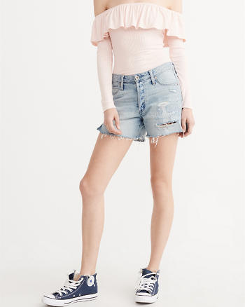 ANF Denim Boyshorts