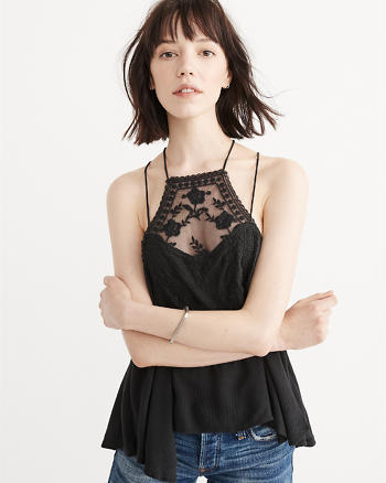 ANF Lace Square Neck Cami