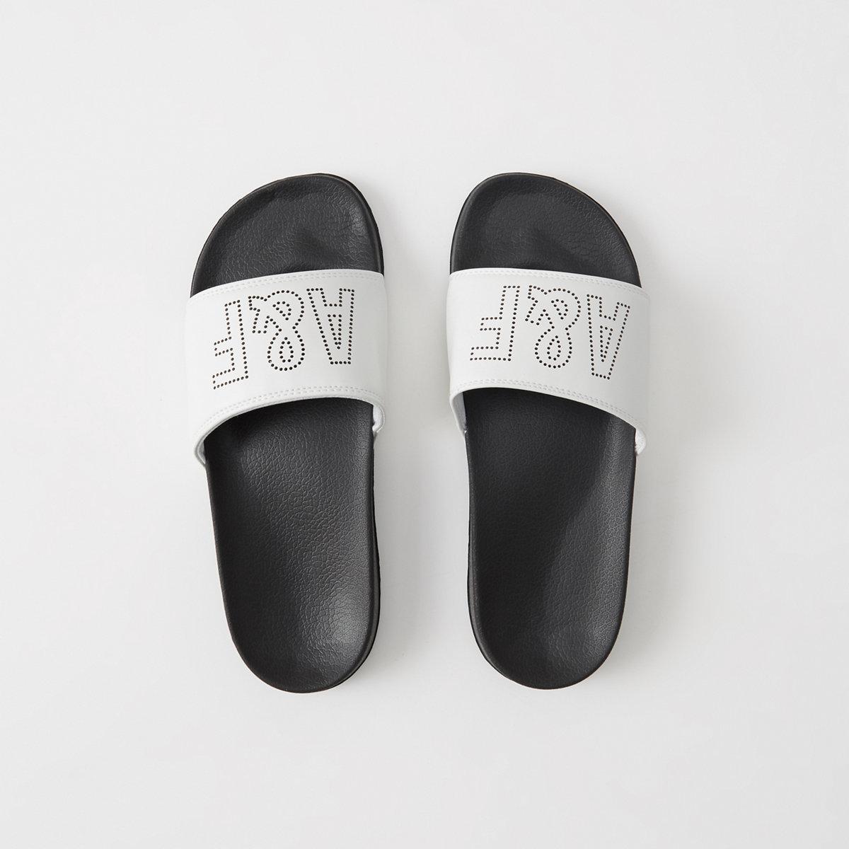 Athletic Slide Sandals