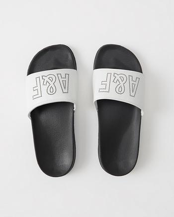ANF Athletic Slide Sandals