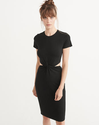 ANF Cutout Midi Dress