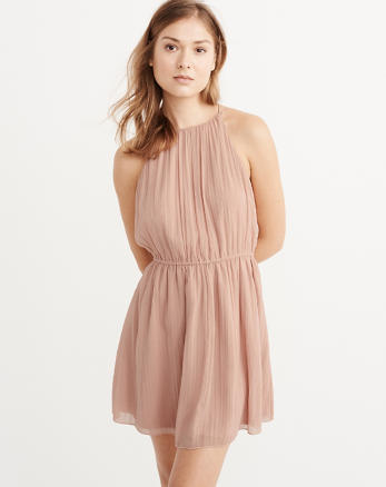 ANF High-Neck Dress