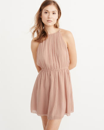 ANF Chiffon Dress