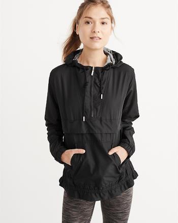 ANF Nylon Popover Jacket